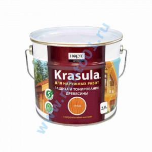 Состав KRASULA для защиты и тонирования древесины