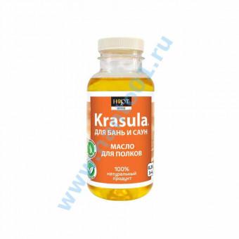 KRASULA (красула) масло для полков - защитное покрытие для бани и сауны в Москве по цене завода.